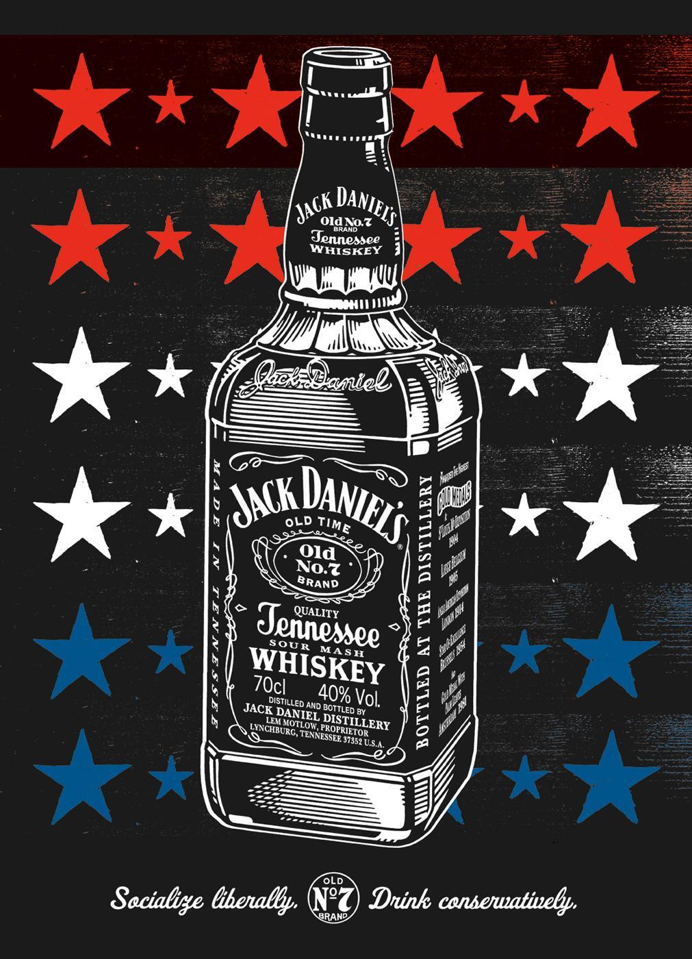 Jack Daniel's Print Ad -  Socialize