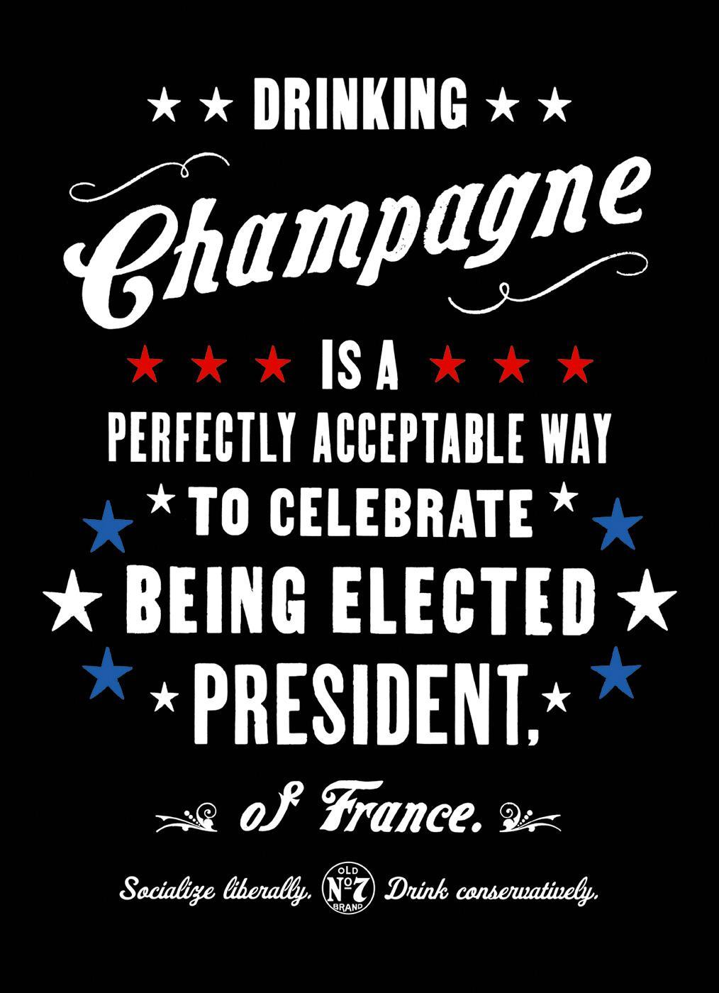 Jack Daniel's Print Ad -  France