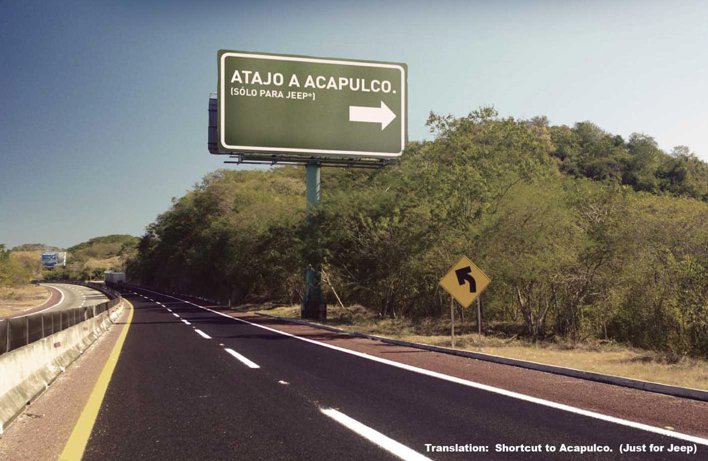 Jeep Print Ad -  Acapulco