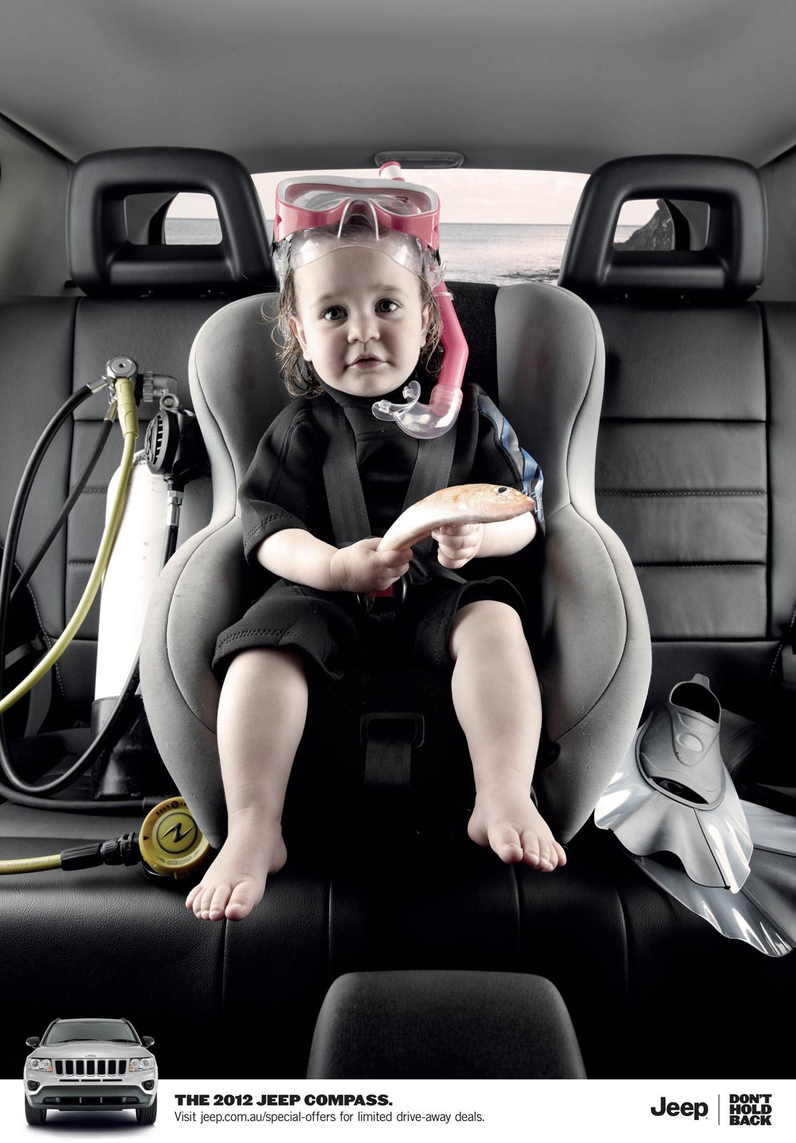 Jeep Print Ad -  Compass Baby