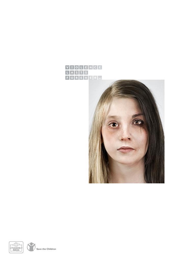 Save the Children Print Ad -  Jessica