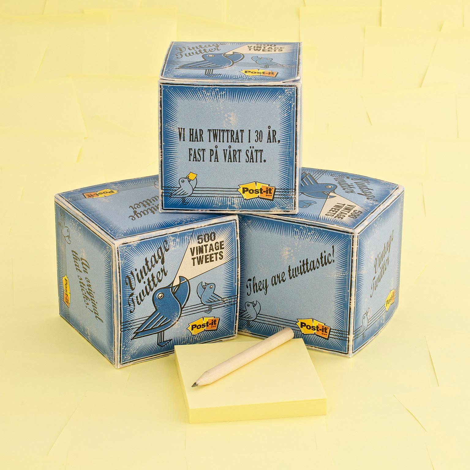 Post-it Brand Direct Ad -  Vintage Twitter