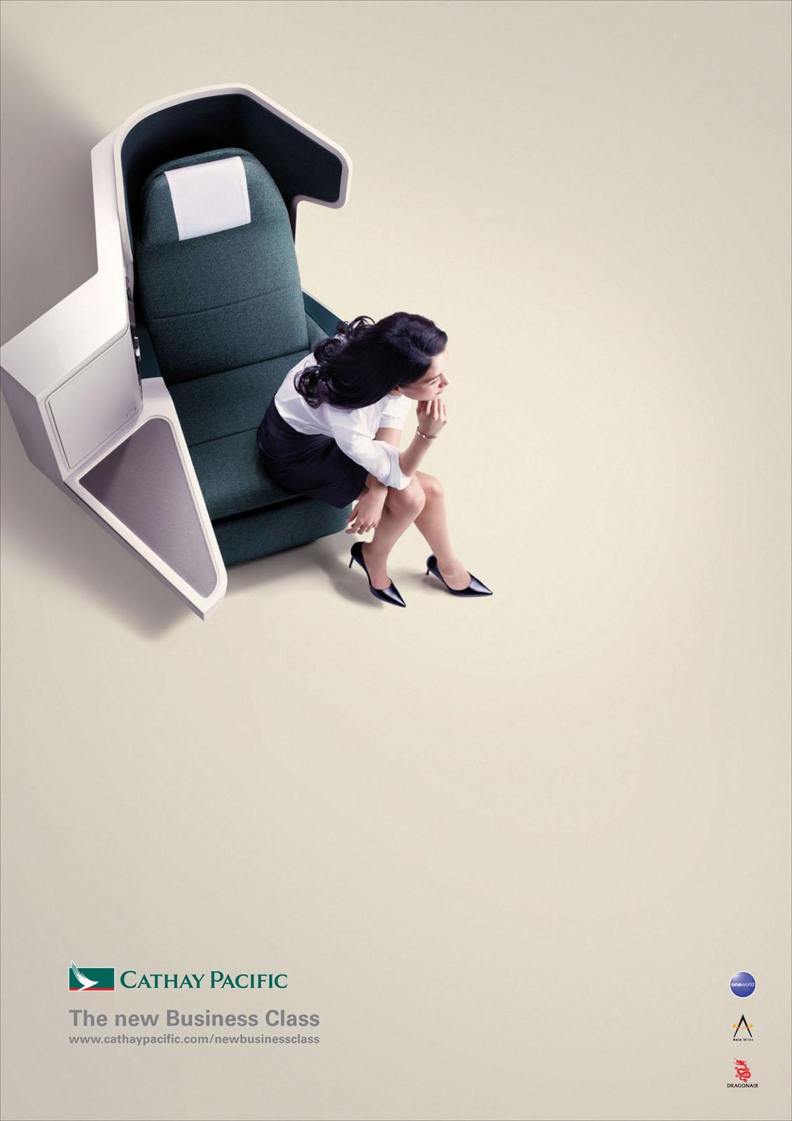 Cathay Pacific Print Ad -  Jo