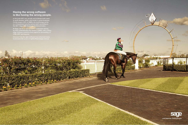Sage Print Ad -  Jockey