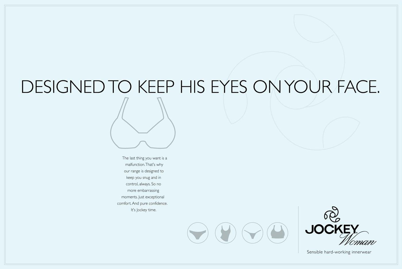Jockey Print Ad -  Eyes