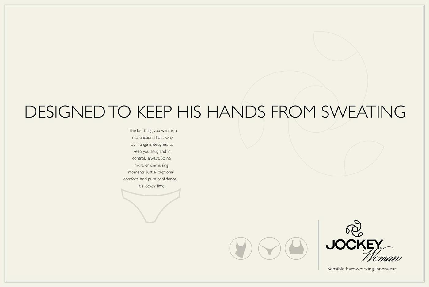 Jockey Print Ad -  Hands