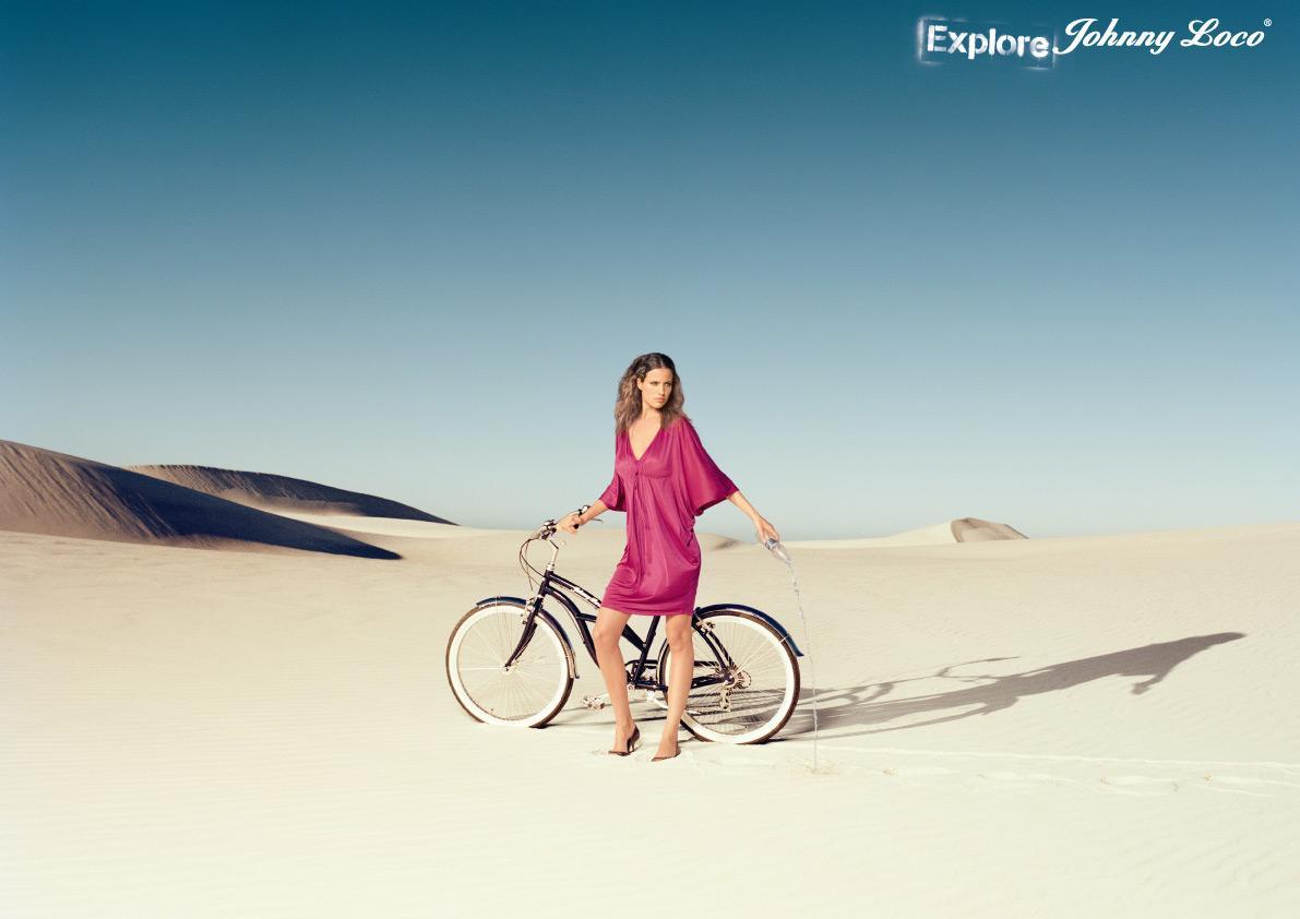 Johnny Loco Print Ad -  Desert