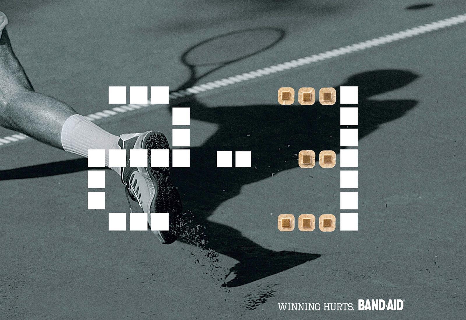 Band Aid Print Ad -  Score, 1