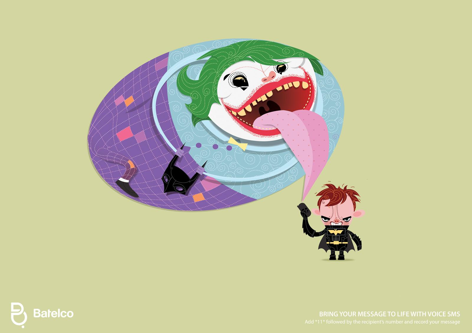 Batelco Print Ad -  Bubbles, Joker