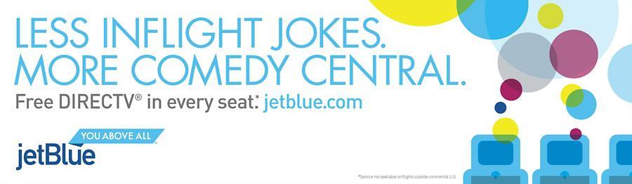 JetBlue Print Ad -  Jokes