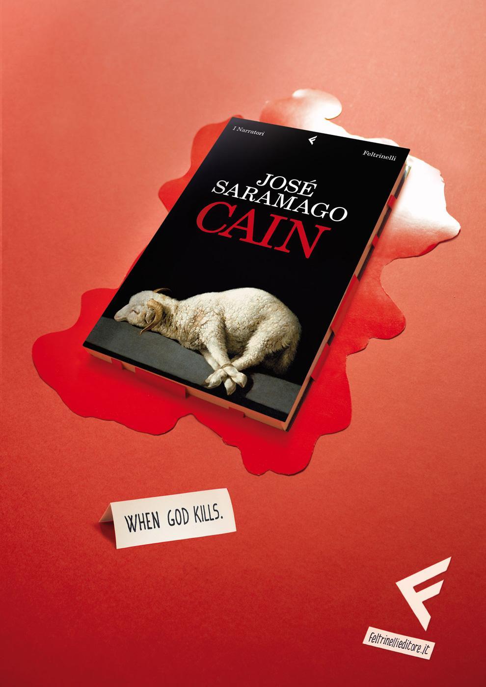 Feltrinelli Print Ad -  When God kills