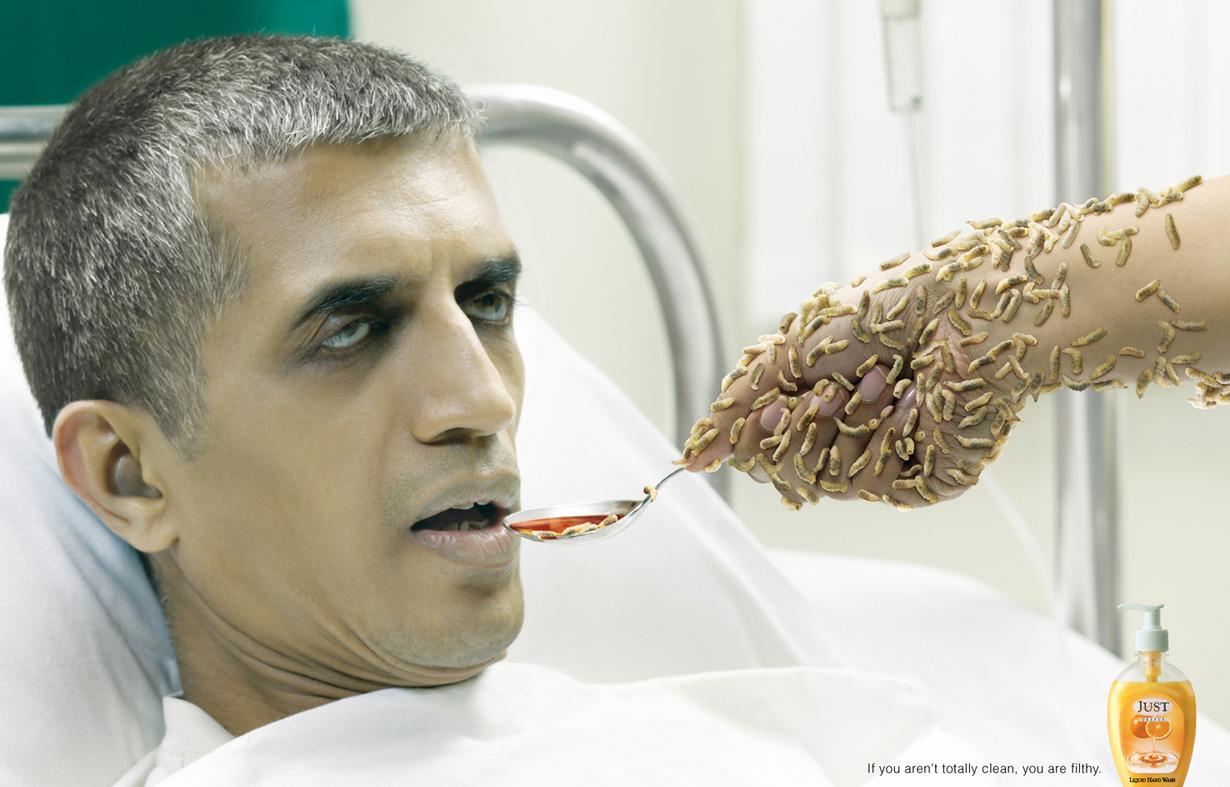 Just Print Ad -  Maggots