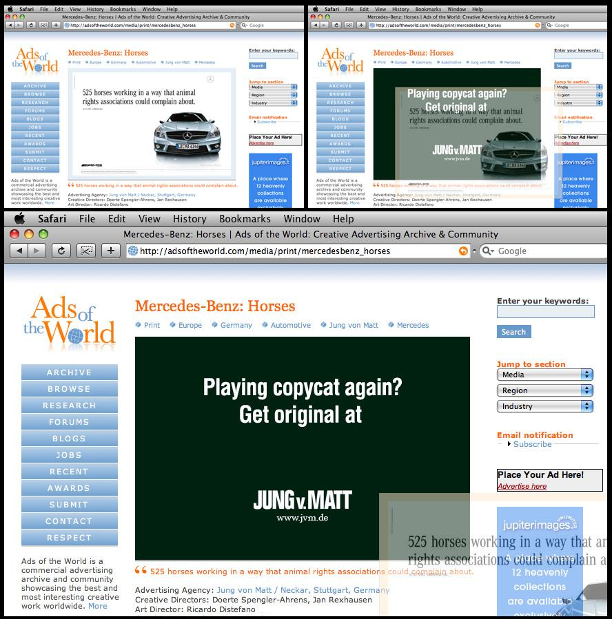 Jung von Matt Digital Ad -  Ads of the World hack