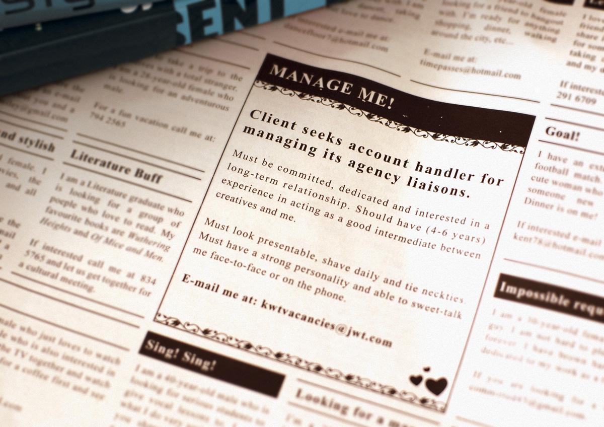 JWT Print Ad -  Account