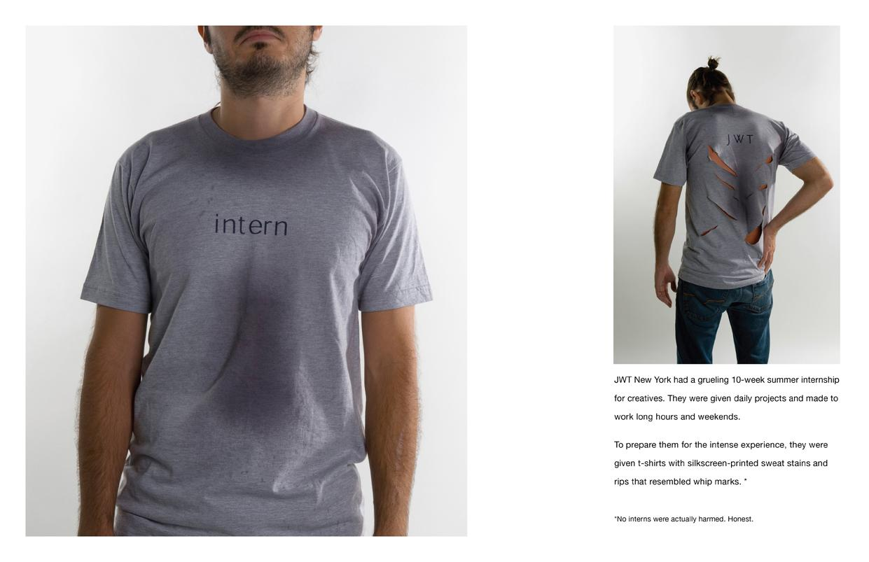 JWT Direct Ad -  Intern shirts
