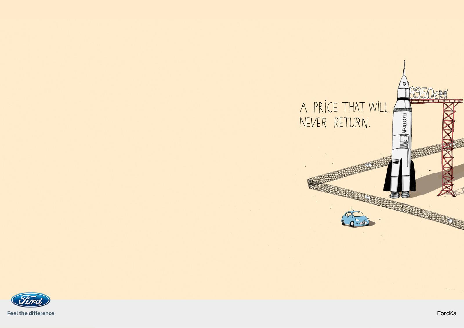Ford Print Ad -  Apollo XIII