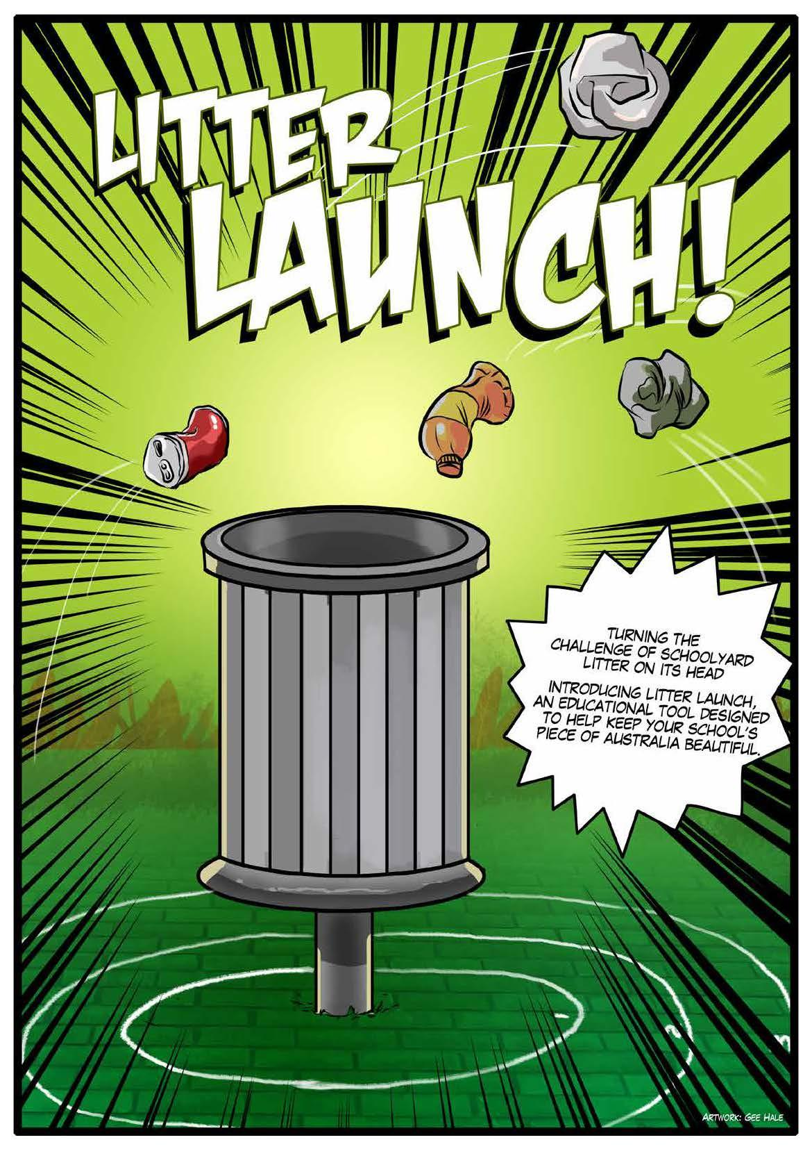 KAB Week Print Ad -  Litter Launch 1
