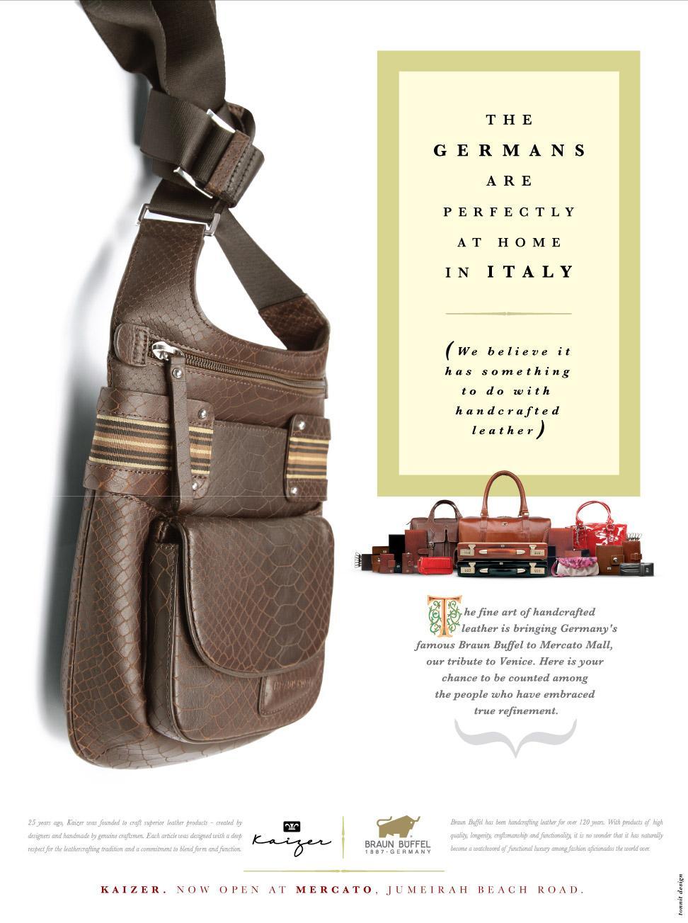 Kaizer Print Ad -  Germans