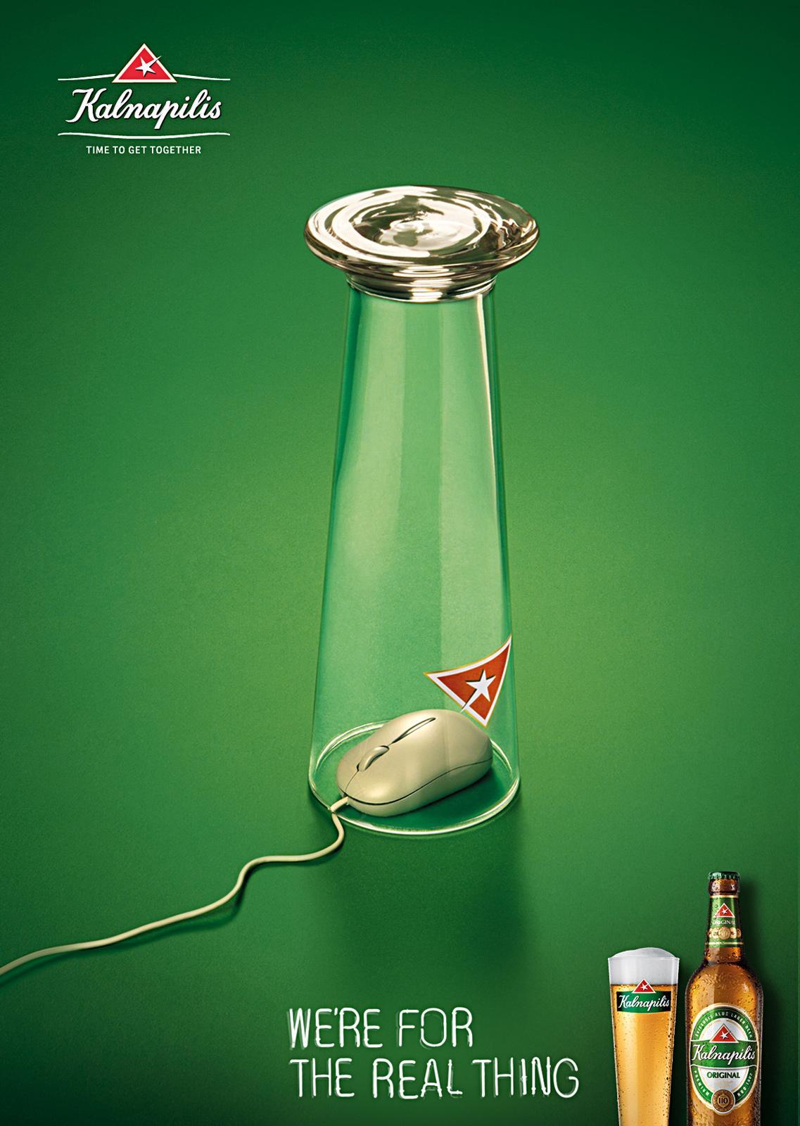 Kalnapilis Print Ad -  Mouse, 1