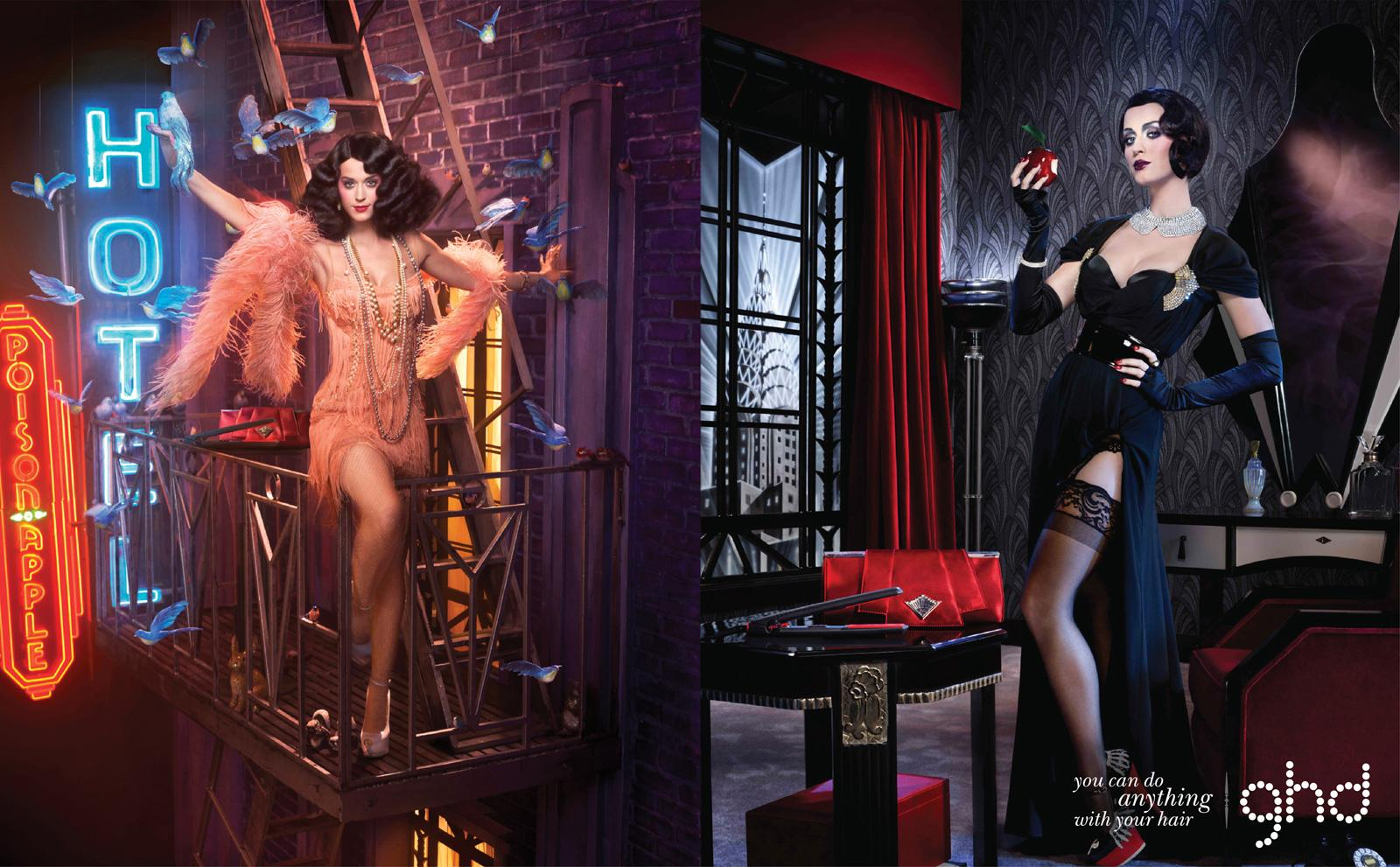 ghd Print Ad -  Katy Perry