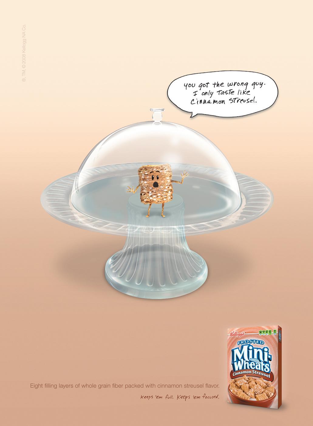 Kellogg's Print Ad -  Cinnamon