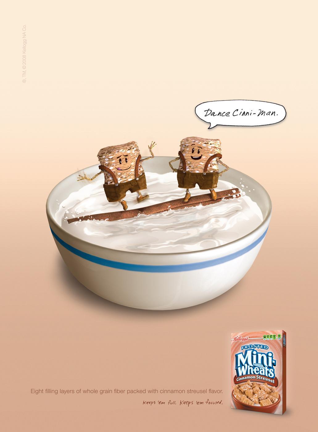 Kellogg's Print Ad -  Dance