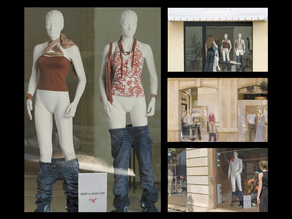 Kellogg's Ambient Ad -  Drop a jeans size