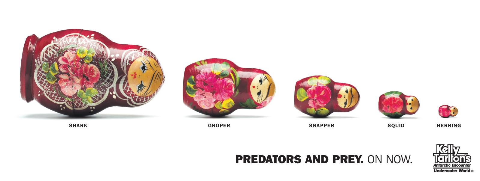 Kelly Outdoor Ad -  Russian Dolls