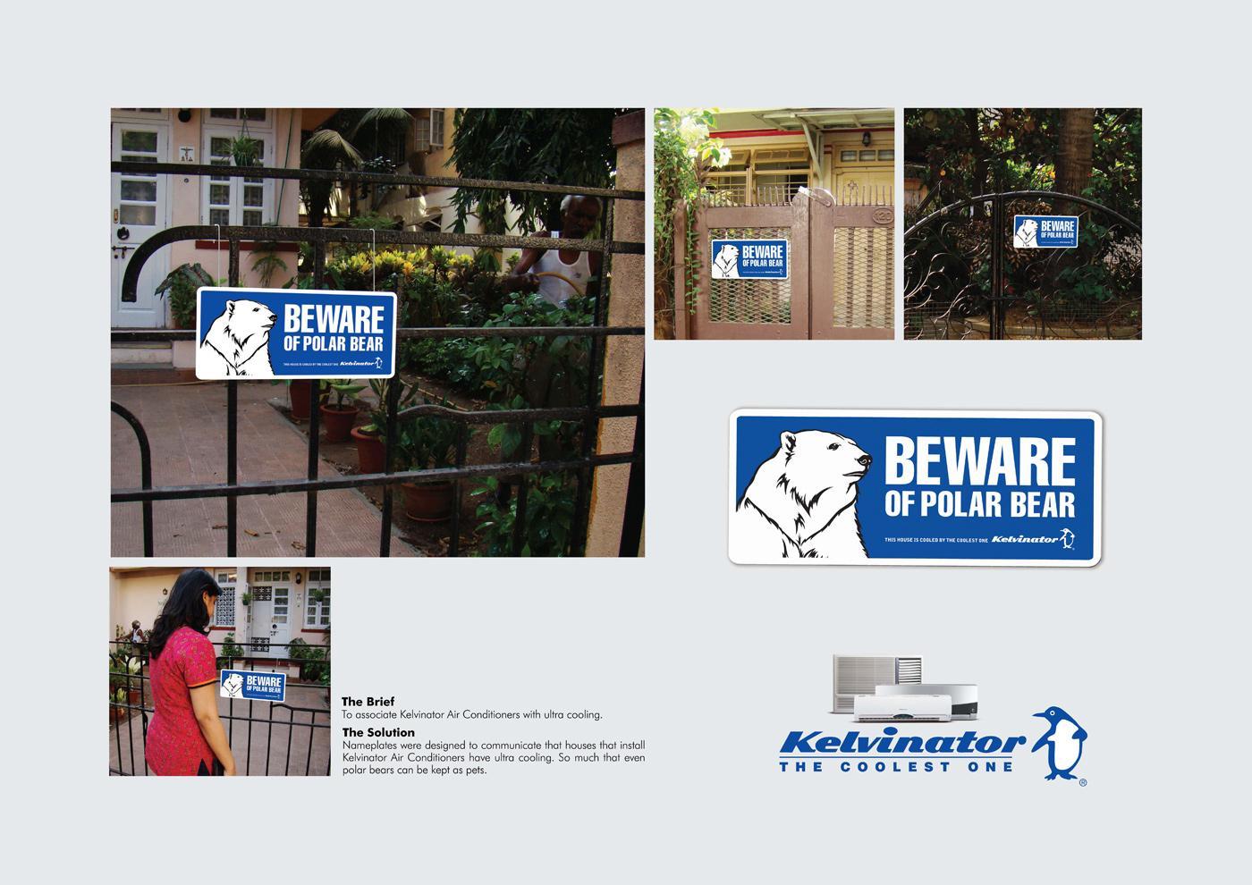 Kelvinator Ambient Ad -  Beware of Polar Bear