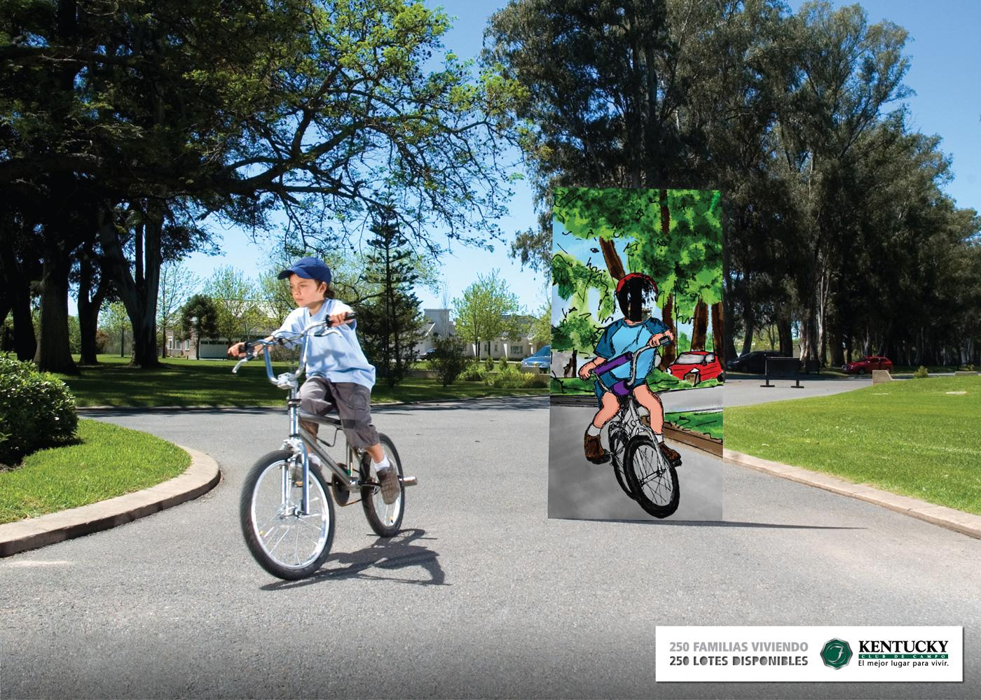 Kentucky Country Club Print Ad -  Bike