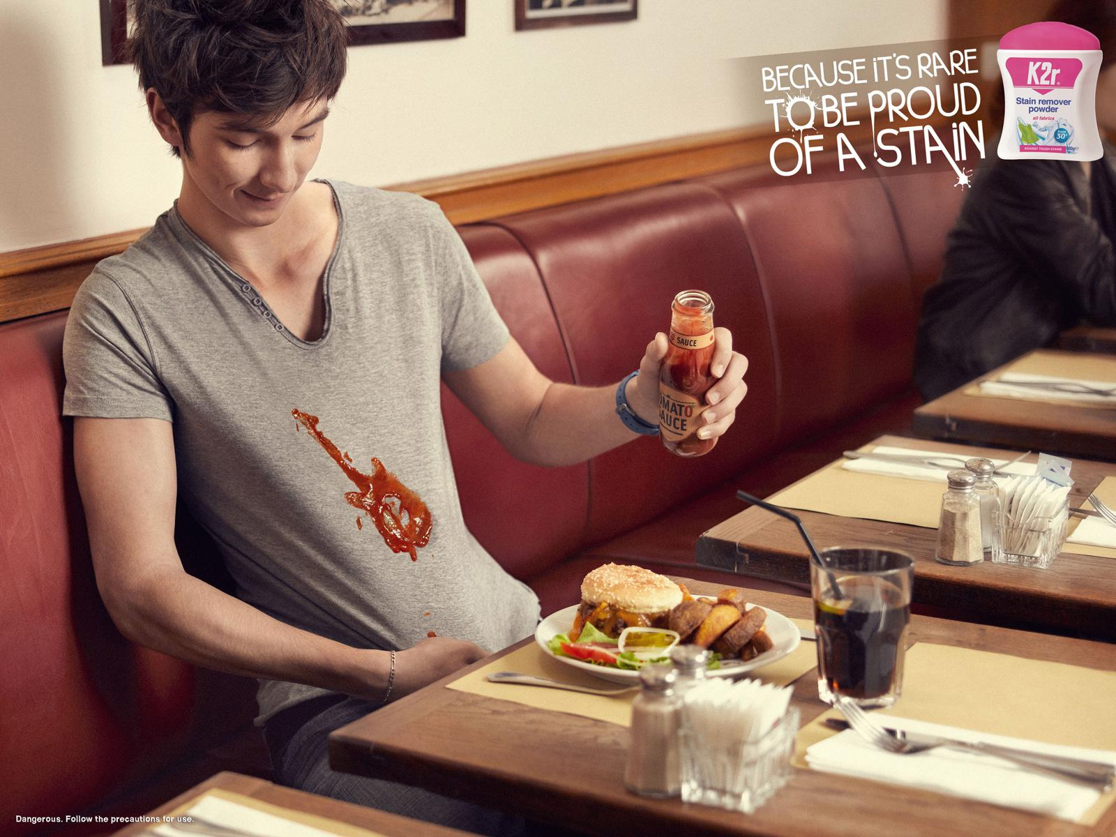 K2R Print Ad -  Ketchup