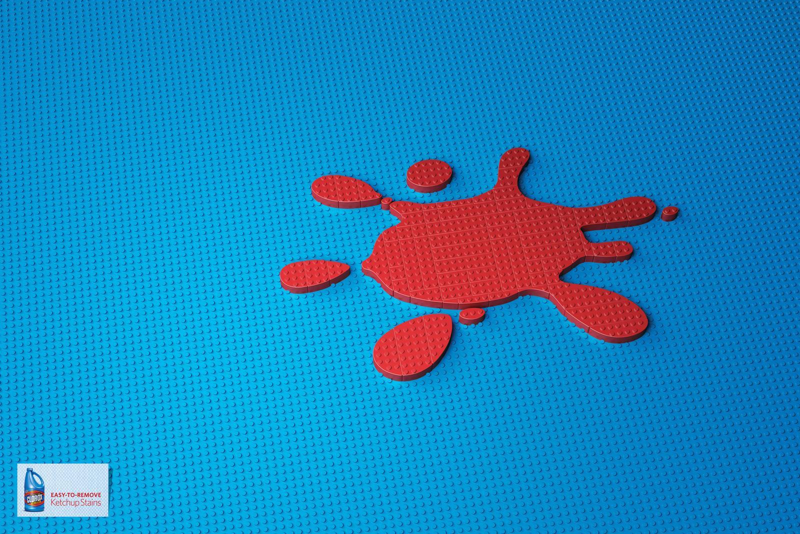Clorox Print Ad -  Ketchup Stain