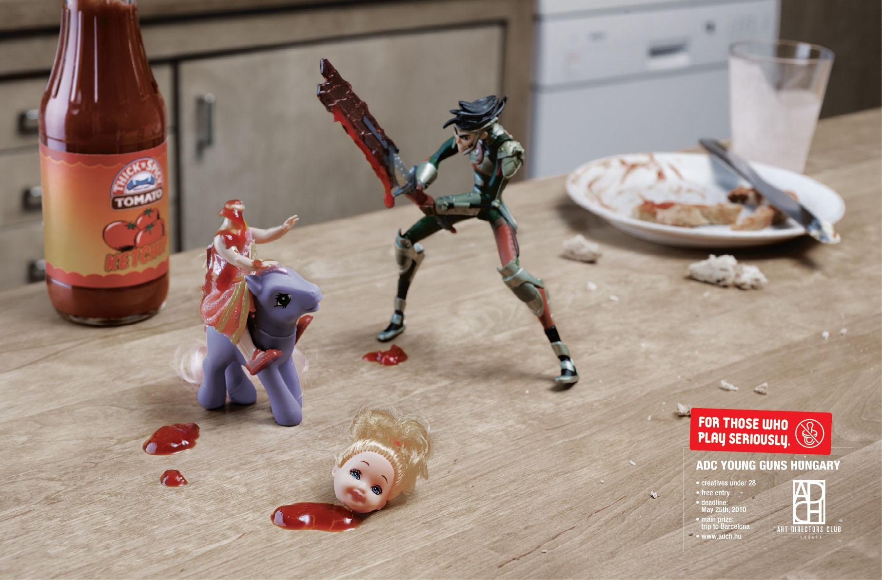 Art Directors Club Print Ad -  Ketchup
