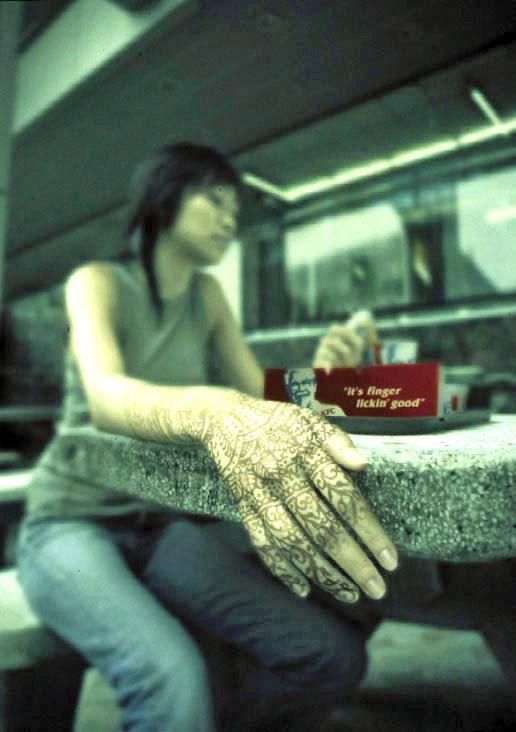 KFC henna