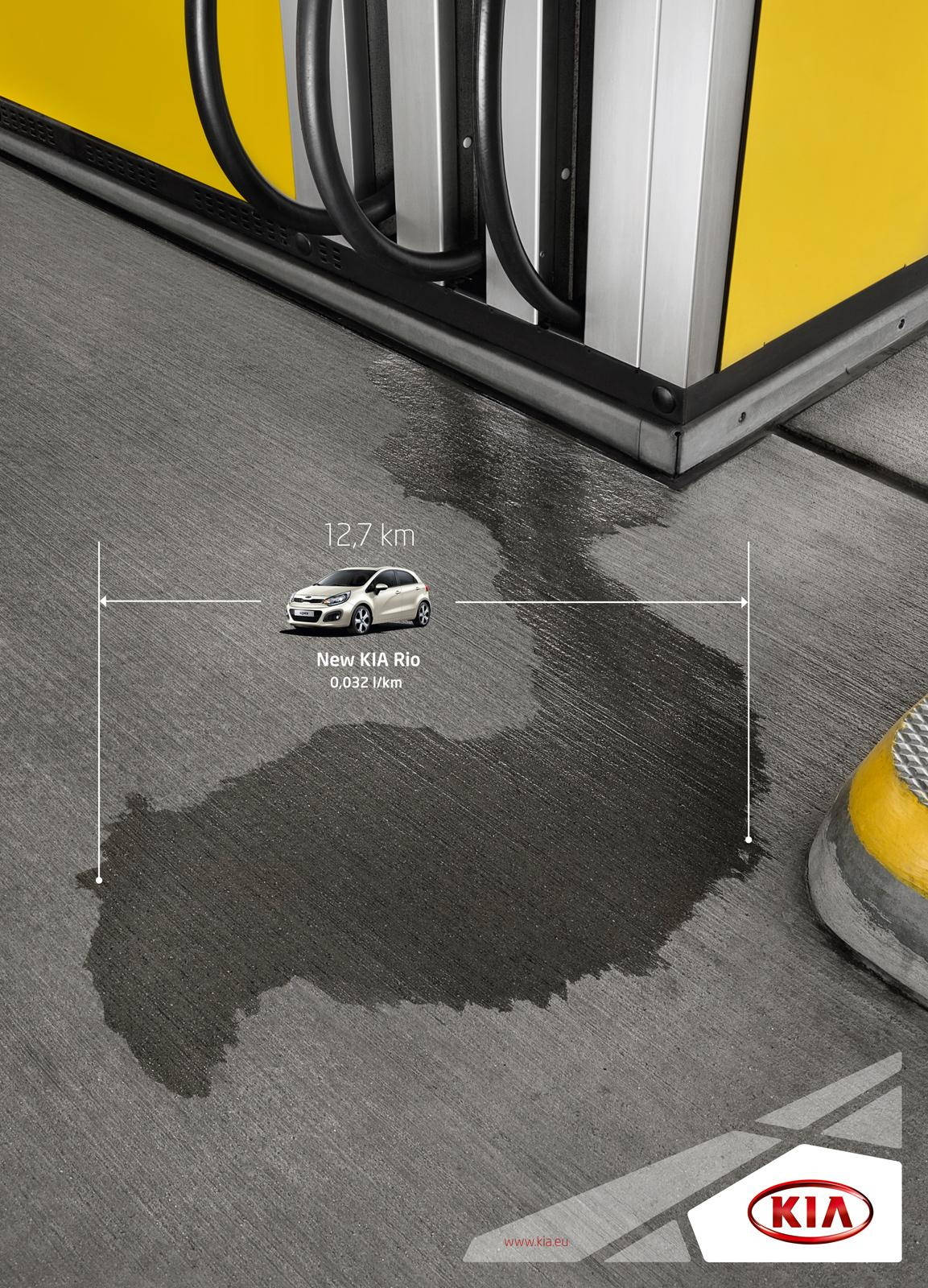 KIA Print Ad -  Ground