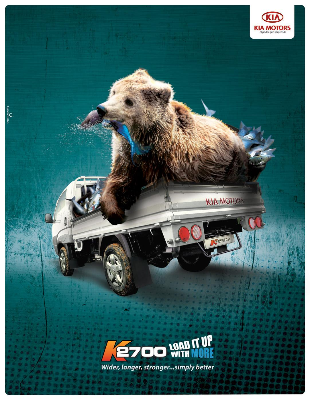 KIA Print Ad -  Bear
