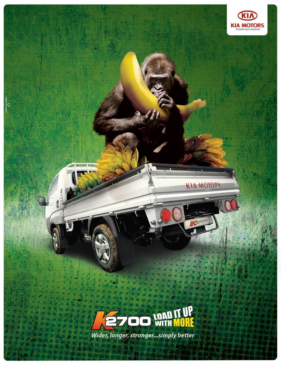 KIA Print Ad -  Gorilla
