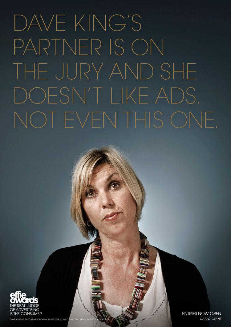 Effie Awards Print Ad -  King
