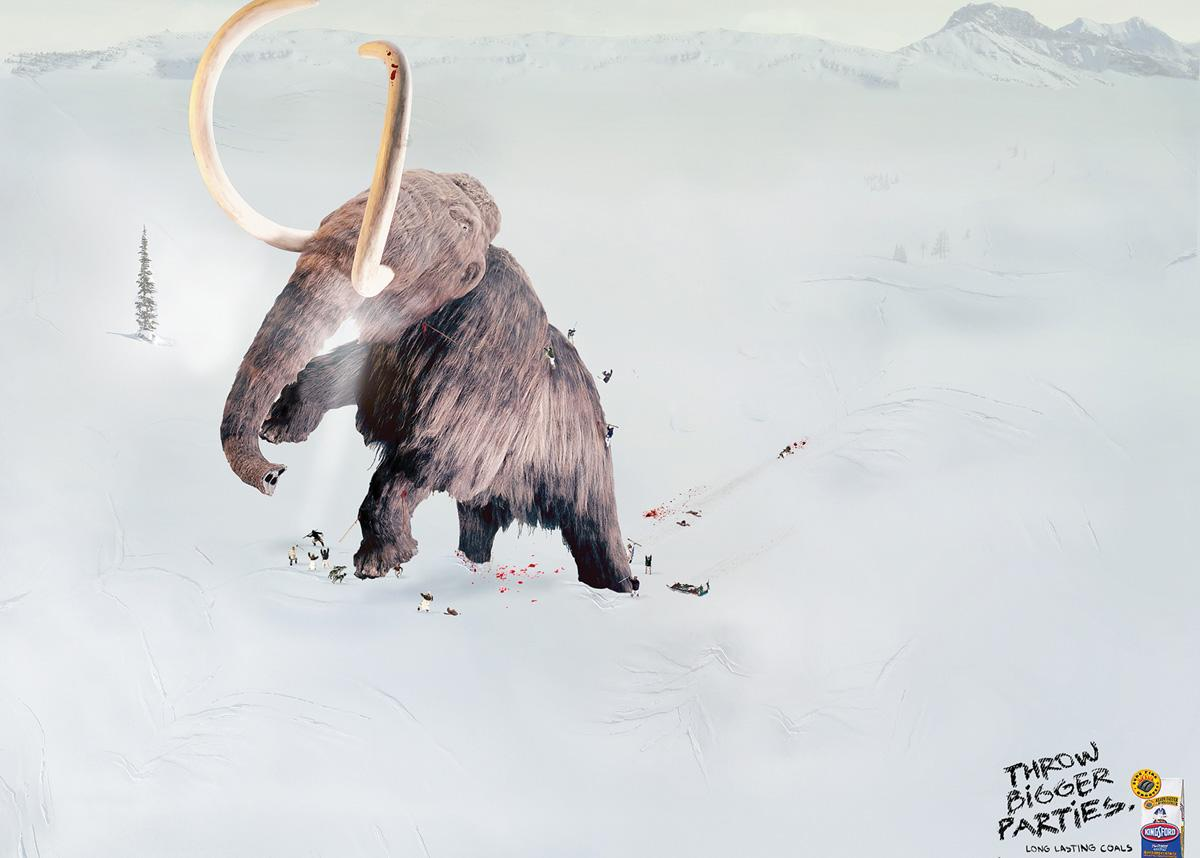 Kingsford Print Ad -  Mammoth