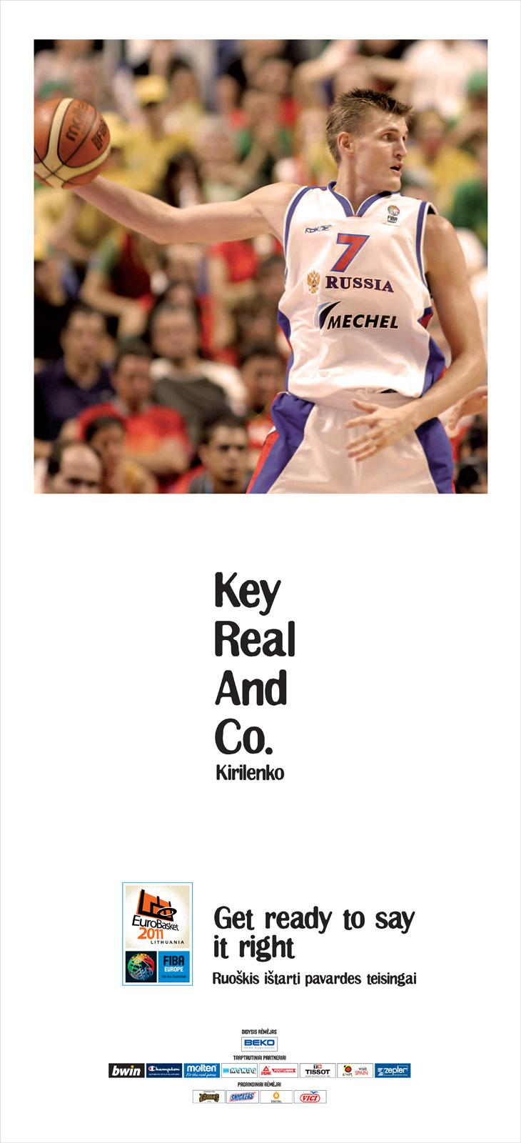 Eurobasket Outdoor Ad -  Kirilenko
