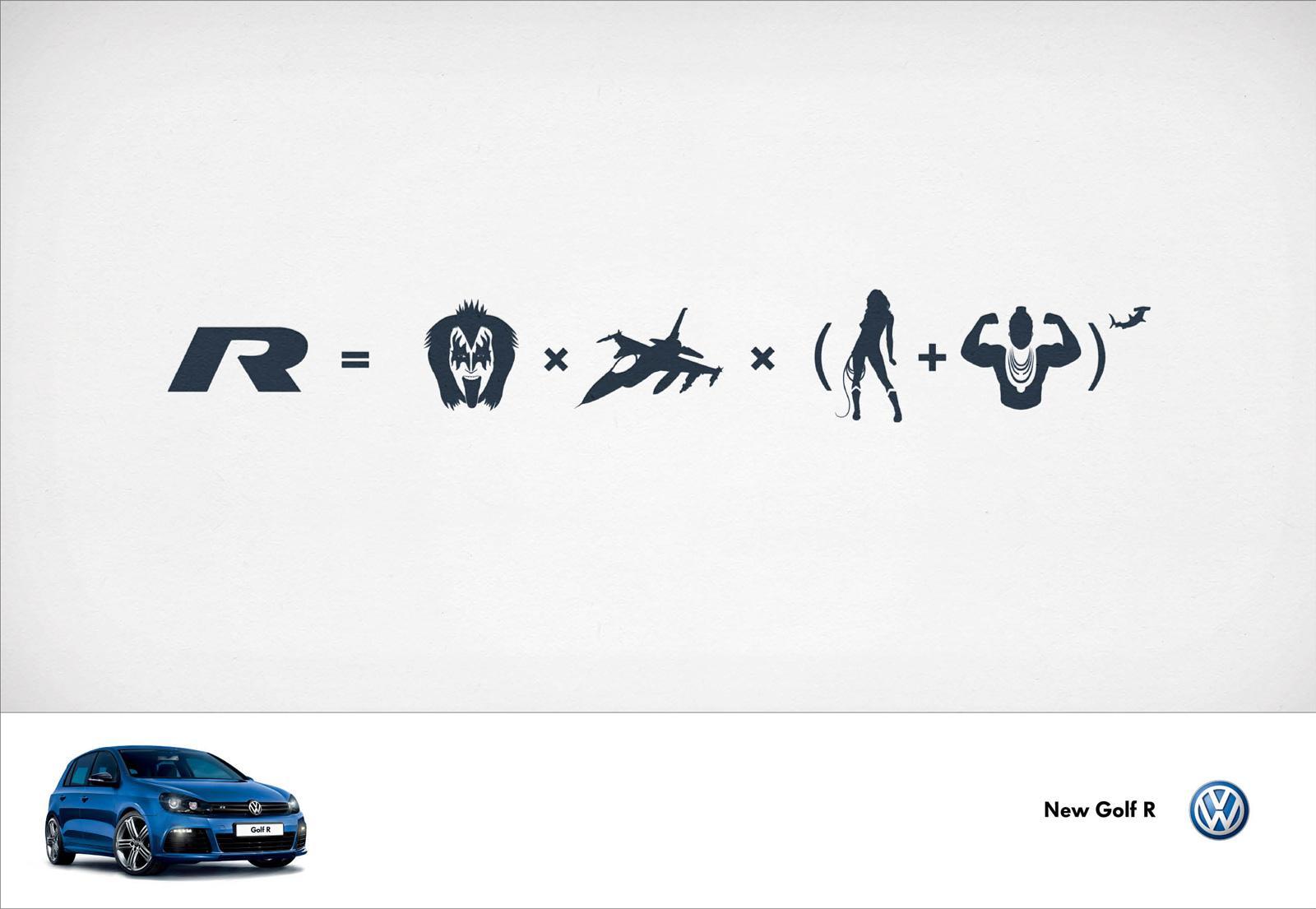 Volkswagen Print Ad -  Kiss + Mr T