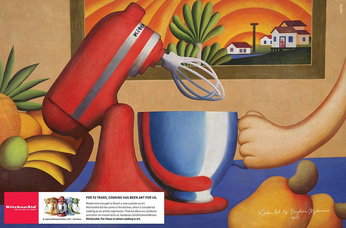 Whirlpool Print Ad -  Brazilian Modernism