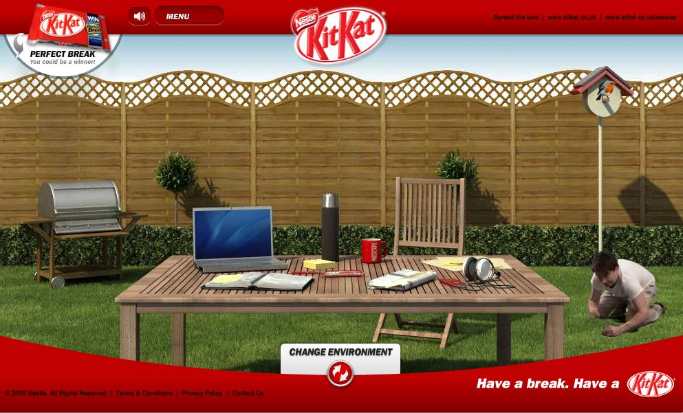 Kit Kat Digital Ad -  Working like a machine?