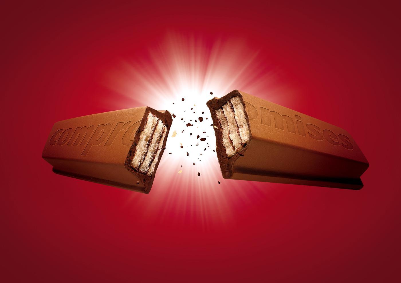 Kit Kat Print Ad -  Compromises