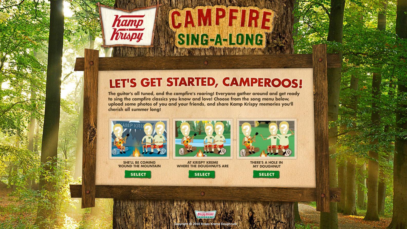 Krispy Kreme Digital Ad -  Kamp Krispy