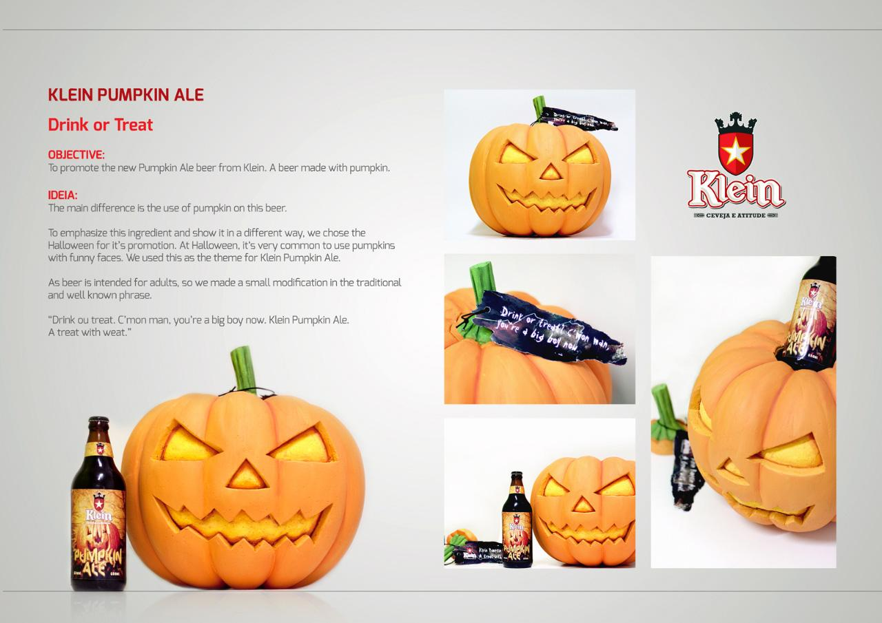 Klein Bier Direct Ad -  Drink or treat