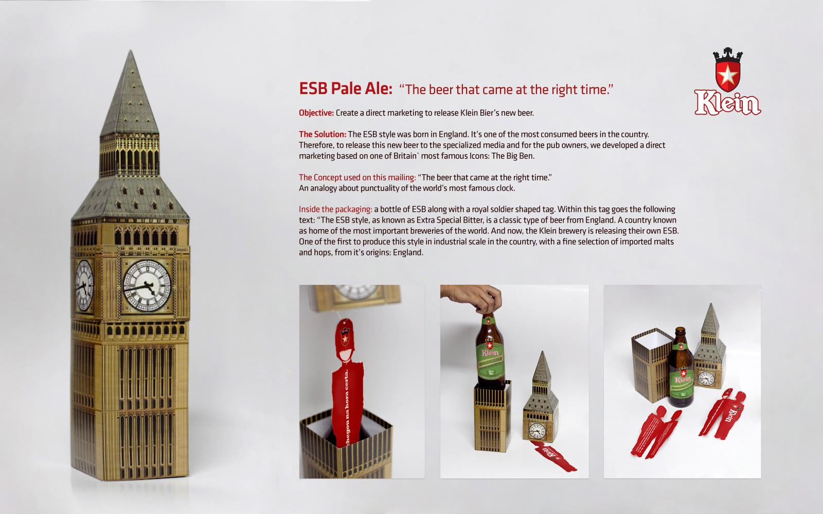Klein Bier Direct Ad -  Big Ben