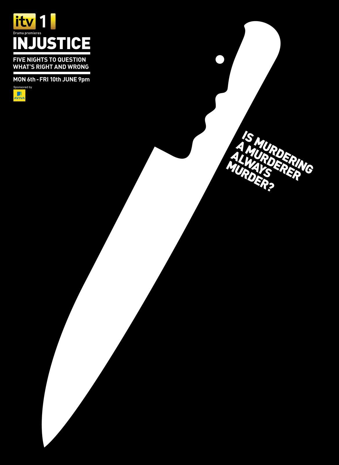 Injuctice Print Ad -  Knife