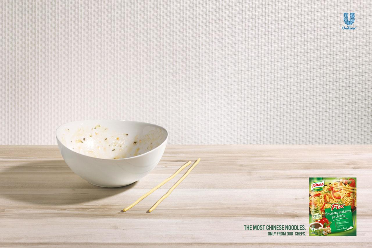 Knorr Print Ad -  Sticks