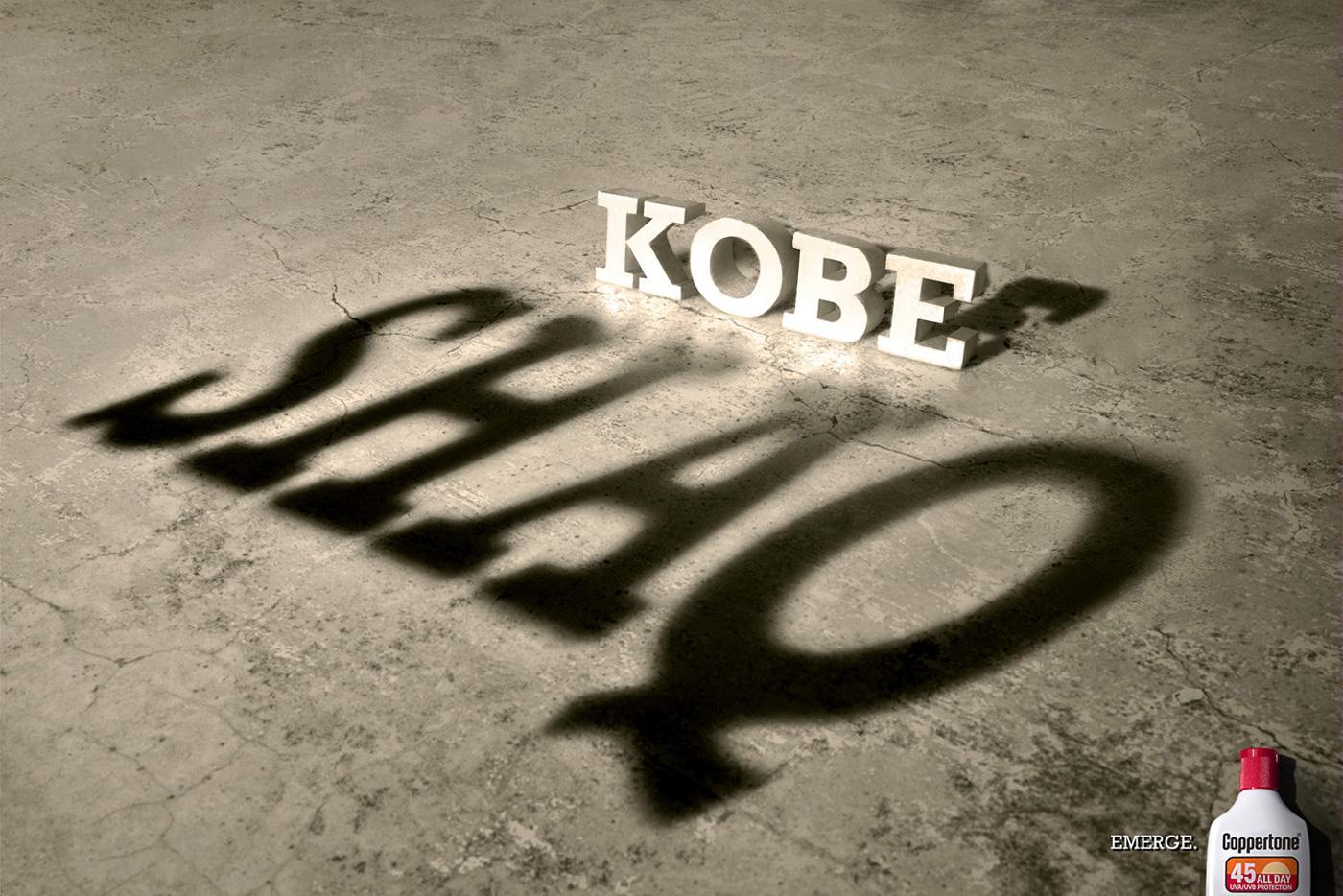 Coppertone Print Ad -  Kobe